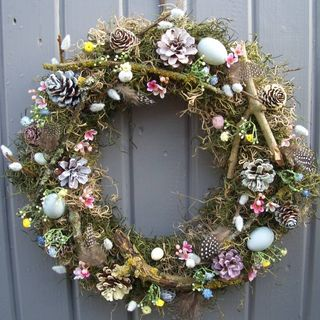 Easter, Spring And Summer Wreath