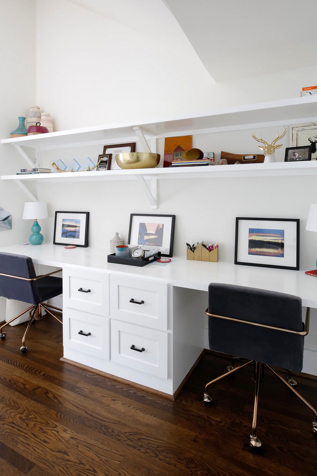 Den space in renovated Nashville home by Merrill Construction Group