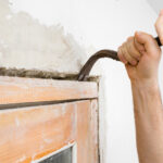 New homeowners in Oklahoma uncover hidden shower during bathroom renovation
