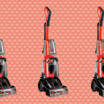 The Bissell Turboclean Powerbrush Carpet and Rug Deep Cleaner is on sale at QVC
